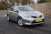 2014 TOYOTA AURIS 1.8 ICON VVT-I 5d AUTO 136 BHP £11500.00