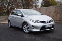 2014 TOYOTA AURIS 1.8 ICON VVT-I 5d AUTO 136 BHP £10995.00