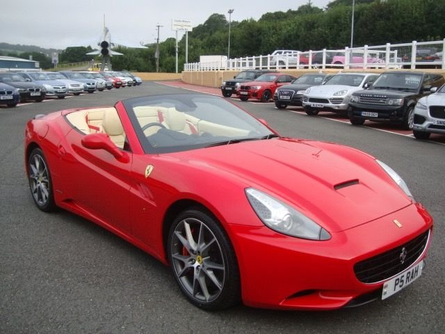 2009 09 FERRARI CALIFORNIA 4.3 2 PLUS 2 2d AUTO 460 BHP