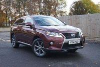 2014 LEXUS RX 3.5 450H ADVANCE PAN ROOF 5d AUTO 295 BHP £23995.00