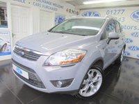 2012 FORD KUGA 2.0 TITANIUM TDCI 2WD 5d 138 BHP £10454.00