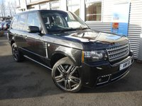 USED 2012 12 LAND ROVER RANGE ROVER 4.4 TDV8 WESTMINSTER  OVERFINCH WESTMINSTER OVERFINCH