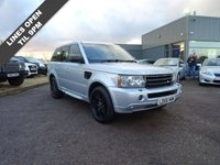 USED 2006 56 LAND ROVER RANGE ROVER SPORT 2.7 TDV6 HSE 5d AUTO 188 BHP DRIVE THIS CAR HOME TODAY HSE SPEC with LEATHER TRIM , CRUISE  CONTROL, AIR CONDITIONING, ELECTRIC MEMORY SEATS/MIRRORS,