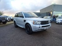 USED 2006 56 LAND ROVER RANGE ROVER SPORT 2.7 TDV6 HSE 5d AUTO 188 BHP LEATHER TRIM