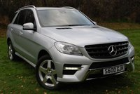 USED 2012 62 MERCEDES-BENZ M CLASS ML350 BLUETEC SPORT 3.0 CDi AUTO [258 Bhp] * LOW MILEAGE * FSH * SAT NAV