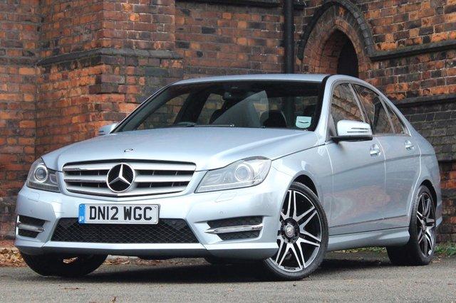 2012 12 MERCEDES-BENZ C CLASS 2.1 C250 CDI BlueEFFICIENCY AMG Sport Plus 7G-Tronic Plus 4dr