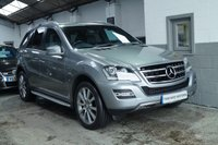 USED 2011 11 MERCEDES-BENZ M CLASS 3.0 ML300 CDI BLUEEFFICIENCY GRAND EDITION 5d AUTO 204 BHP 1 OWNER FROM NEW+SUPER LOW MILES+DIESEL