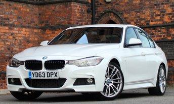 2013 BMW 3 SERIES 3.0 330D M SPORT 4d AUTO 255 BHP £18475.00