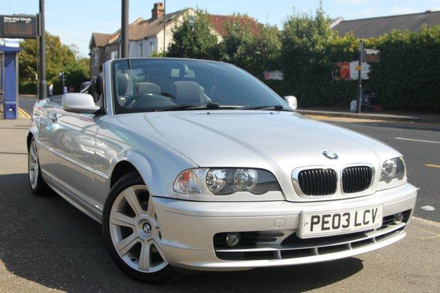 2003 03 BMW 3 SERIES 2.0 318Ci 2dr