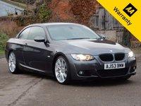 USED 2008 53 BMW 3 SERIES 3.0 335I M SPORT 2d AUTO 302 BHP Full BMW History