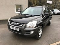 USED 2005 55 KIA SPORTAGE 2.0 XE CRDI 5d AUTO 111 BHP AUTOMATIC ** SOLD WITH 12 MONTHS MOT + SERVICE **