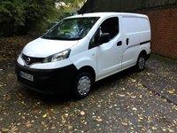 2012 NISSAN NV200 1.5 SE DCI 1d 89 BHP £5450.00
